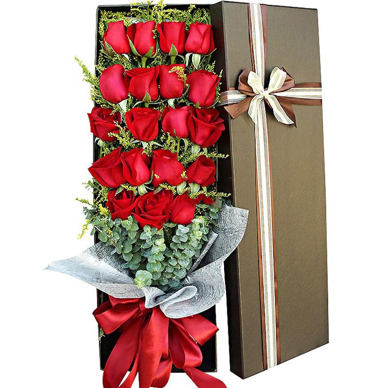 包装:咖啡色长方形礼盒. 附送:免费附送精美贺卡,代写您的祝福.